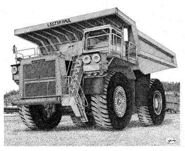 Haulage Truck Drawing